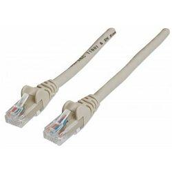 Intellinet prespojni mrežni kabel Cat.5e UTP PVC 0.5m sivi