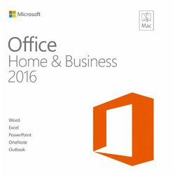 Office Mac Home Business 1PK 2016 English EuroZone Medialess