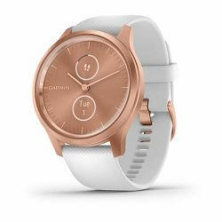 Garmin Vivomove Style Rose Gold white