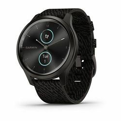 Garmin Vivomove Style Slate Black Pepper nylon