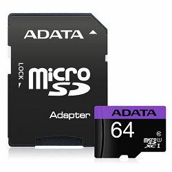 Memorijska kartica Adata SD MICRO 64GB HC Class10 UHS