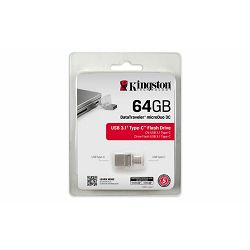 USB memorija Kingston 64GB DataTraveler microDuo 3.1 Type-C