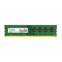 Memorija Adata 8GB 1600MHz, CL11 , 1.35V ADDU1600W8G11-B Bul
