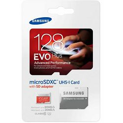 Memorijska kartica Samsung SD micro 128GB EVO+ Adapter