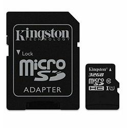 Memorijska kartica  Kingston SD MICRO 32GB HC  +ad UHS-I U3
