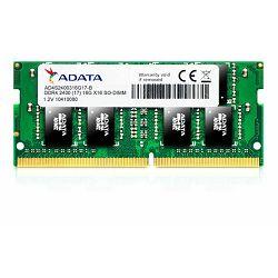 Adata Memorija SO-DIMM DDR4 8GB 2400MHz za prijenosna računa