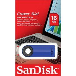 USB memorija Sandisk Cruzer Dial Blue USB 2.0 16GB