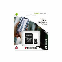 Memorijska kartica  Kingston SD MICRO 16GB Class 10 UHS-I  P