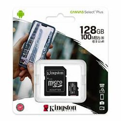Memorijska kartica  Kingston SD MICRO 128GB Class 10 UHS-I P
