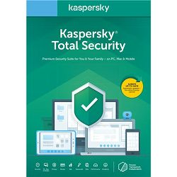 Kaspersky Total Security Multi-Device 3-Device 1 year Base