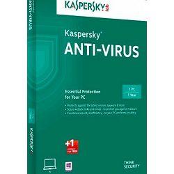 Kaspersky Anti-Virus 2017 1D 1Y+ 3mth