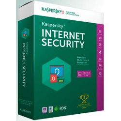 Kaspersky Internet Security 2017 3D 1Y+ 3mth renewal