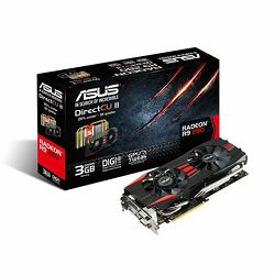 Grafička kartica Asus R9 280-DC2-3GD5 3GB GDDR5 DVI-D ,DVI-I, Display port, HDMI