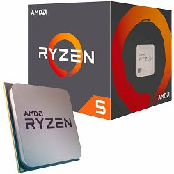 AMD CPU Desktop Ryzen 5 6C/12T 3600X (4.4GHz,36MB,95W,AM4) box with Wraith Spire cooler