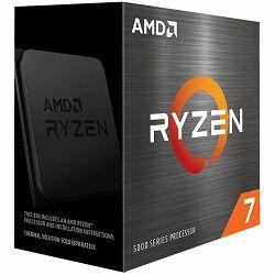 Procesor AMD CPU Desktop Ryzen 7 8C/16T 5800X (3.8/4.7GHz Max Boost,36MB,105W,AM4) box