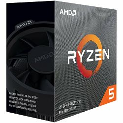 Procesor AMD CPU Desktop Ryzen 5 6C/6T 3500X (3.6/4.1 Boost GHz,35MB,65W,AM4) box, with Wraith Stealth cooler