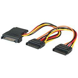 Roline interni Y-naponski kabel, SATA na 3×SATA