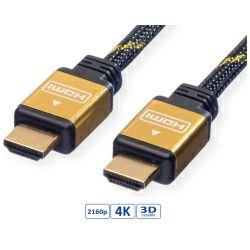 Roline GOLD HDMI kabel sa mrežom, HDMI M - HDMI M, 20m