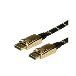 Roline GOLD DisplayPort kabel, DP-DP, M/M, 10m