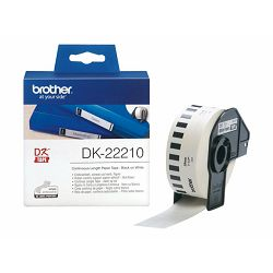 BROTHER Continuos Paper Black/White 29mm