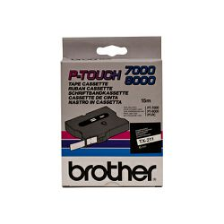 BROTHER TX211 tape cassette 6mm15m