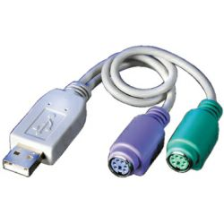 Roline VALUE adapter kabel USB(A/M) na 2×PS/2(F)