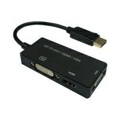 Roline VALUE adapter DisplayPort - VGA/DVI/HDMI, v1.2, Active