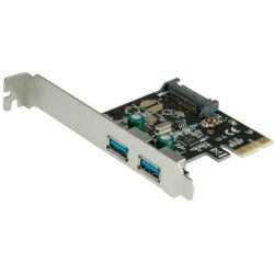 Roline VALUE PCIe kontroler 2×USB3.0 port