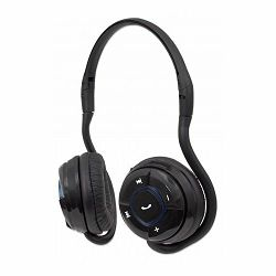Slušalice MANHATTAN Headset Wireless, Flex, Bluetooth, Microphone, Black, Blister