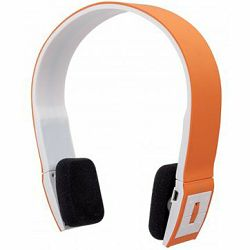 Slušalice MANHATTAN Headset FreeStyle Wireless, Bluetooth, Microphone, Orange, Blister