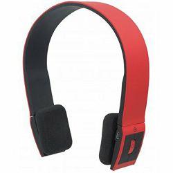 Slušalice MANHATTAN Headset FreeStyle Wireless, Bluetooth, Microphone, Red, Blister