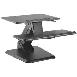 Roline VALUE Workstation desktop stalak, podešavajući za sjedenje/stajanje, crni