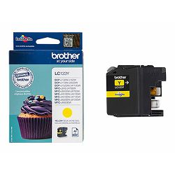 BROTHER LC-123 ink cartridge yellow