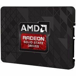 """SSD Radeon R3 SATA III 120GB SSD, 2.5"""" 7mm, SATA 6 Gbit/s, Read/Write: 520 MB/s / 360 MB/s, Random Read/Write IOPS 57K/18K, PN# R3SL120G"""
