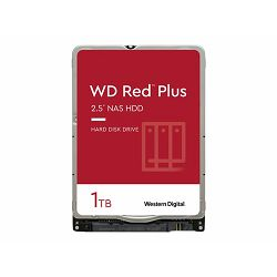WD Red Plus 1TB SATA 6Gb/s 2.5i HDD