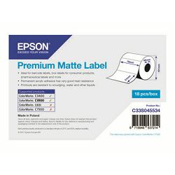 EPSON Premium Matte Label - Die-cut Roll