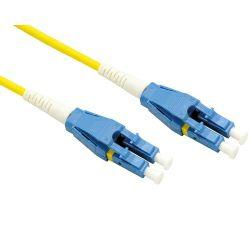 Roline optički mrežni kabel LC-LC 9/125 singlemode, duplex, 2.0m, žuti