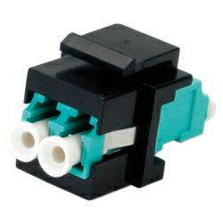 Roline optička keystone utičnica, LC Duplex, Multimode, OM3