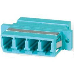 Roline VALUE optički adapter LC četverostruki, OM3, PB