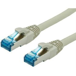 Roline VALUE S/FTP mrežni kabel Cat.6a, sivi, 10m