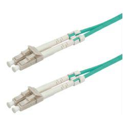 Roline VALUE optički mrežni kabel LC-LC 50/125µm MM OM3, 10m, tirkizni