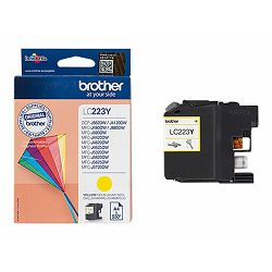 BROTHER LC223Y ink yellow 550pages