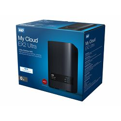 WD My Cloud EX2 Ultra NAS Case 2-Bay