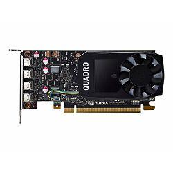 HP NVIDIA Quadro P1000 4GB Kit 4xmDP