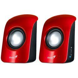 Zvučnici Genius SP-U115, 1.5W, crveni