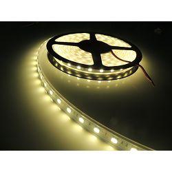 EcoVision LED vodootporna fleksibilna traka 5m, 3528, 9,6W/m, 120LED/m, 2700K, 24V DC