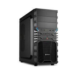 Kućište Sharkoon VG4-S Midi Tower ATX, bez napajanja, crno