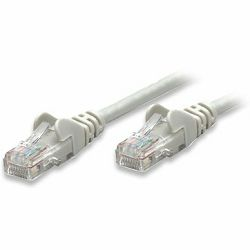 INT Patch Cable, Cat5e, U/UTP, RJ45-Male/RJ45-Male, 2.0 m, Gray, Polybag