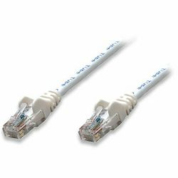 INT Patch Cable, Cat5e, U/UTP, RJ45-Male/RJ45-Male, 2.0 m, White, Polybag
