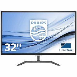 Monitor Philips Display E-Line 323E7QDAB (31.5, IPS, W-LED, 16.9, 1920x1080, 5ms, 20M:1, 1000:1, 250 cd/m2, VGA, DVI (HDCP), HDMI (HDCP), Speakers 2 x 5W, VESA) Black, 2y